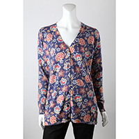 12gg Digitial Print Allover Cardigan