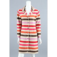 12gg 5 Colors Stripe Coat
